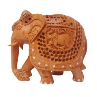 indian wood elephant