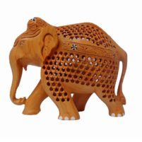 wood elephant small