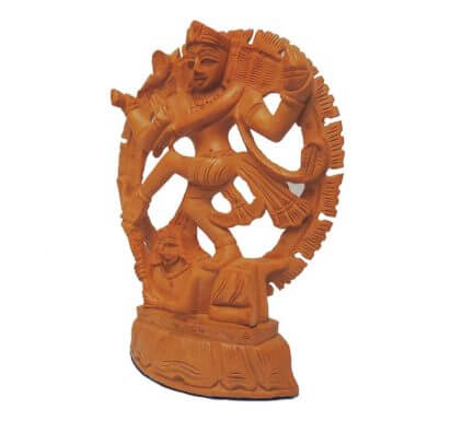 buy wooden netraj statue