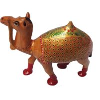 hand painted rajasthani camel