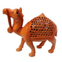 Hand Carved Undercut Camel