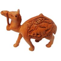 Hand Carved Wood Camel Online