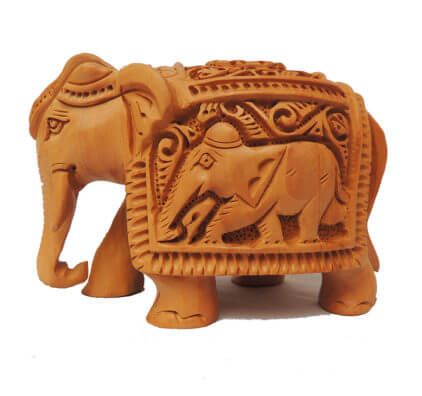 Buy wooden elephant Online at Best Price in India
