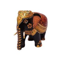 rajasthani art work painted elephant
