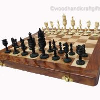 chess set bone