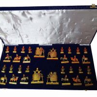 elephant theme chess sets