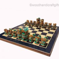 Indian chess pieces