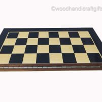 wooden chess boards folded