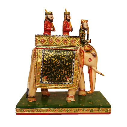Indian maharajah bone chess pieces